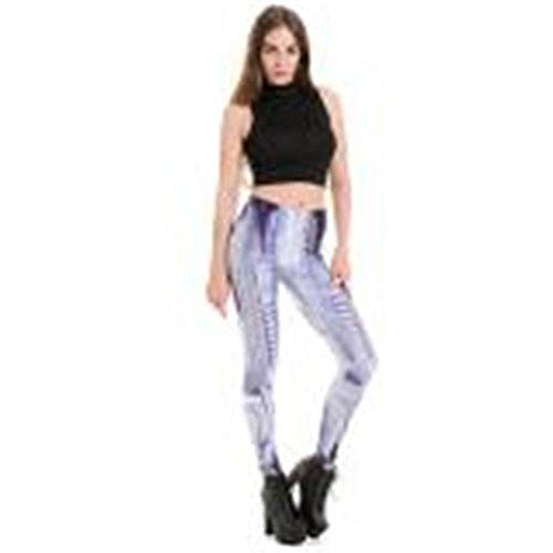 HYHAN Vrouwen slank afslanken zweetabsorberende ademende gezondheid in yoga broek joggingbroek gedrukte broek