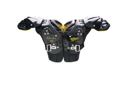Schutt Sports Youth Flex 2.0 All Purpose Shoulder Pad, XX-Small
