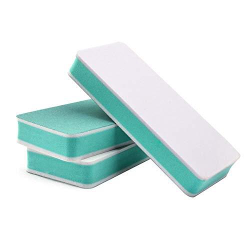Tampon à ongles - Éponge à ongles Nail Art Limes de ponçage éponge Double face Conseils pour les tampons de polissage Manucure Pédicure Outils