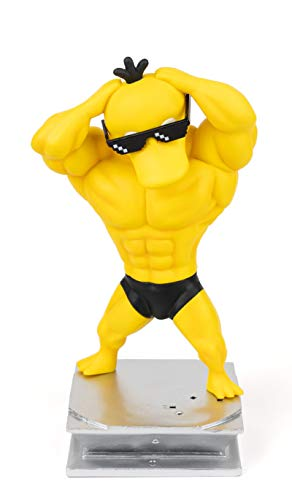 Anime Action Figure GK Psyduck Figure Statue Figurine Bodybuilding Series Collection Birthday Gifts PVC 7 '