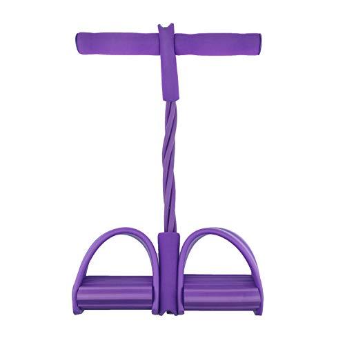 Sit-Up-Trainingsgerät, Widerstandsbänder für Zuhause, Fitnessstudio, Yoga, Fitness, Slimming-Training, Fußpedal für Bauch, Bein, Arm, Taille, Sport, Bodybuilding Expander