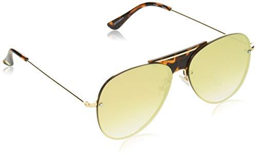 Vince Camuto Vc831 Rgd Gafas de sol de aviador de iridio no polarizadas, oro rosa, 60 mm