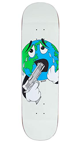 Quasi Skateboards Skateboard World Deck 8.25' Grip inkl.