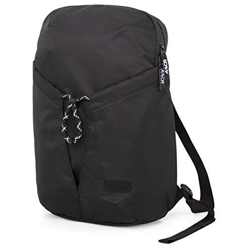 AEVOR Light Pack - Unisex Tagesrucksack, leicht, durchdacht, 16l - All Black - Schwarz