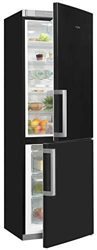 Exquisit KGC35-H-280E - Frigorífico y congelador (298 L), color negro