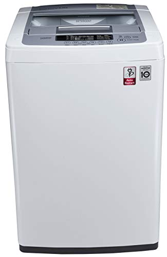 LG 6.2 kg Inverter Fully-Automatic Top Loading Washing Machine (T7269NDDL, Blue and White)