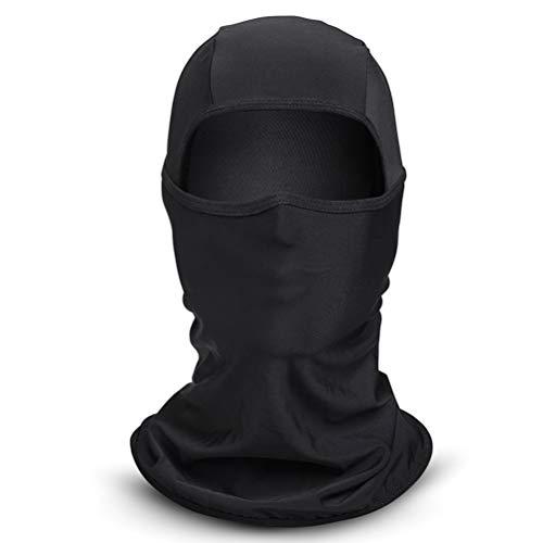 Kerta Máscara de protección solar, máscara de protección contra el viento y los rayos UV, para el verano al aire libre, motocicleta de pesca, senderismo y caza