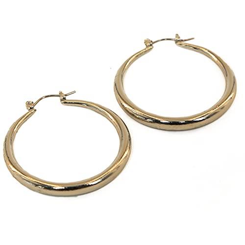 Pendientes WHA & DARREN, pendientes de clip de seguridad, pendientes de aro, pendientes de borlas, pendientes colgantes, pendientes de moda para mujer-joyas chapadas en oro de 18K