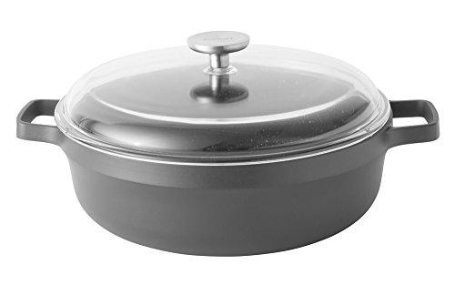 BergHOFF Gem - Sartén antiadherente con revestimiento de cerámica para inducción (2...