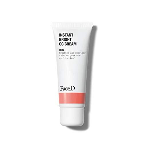FaceD - CC Cream, Crema Corretrice del Colore con Acido...