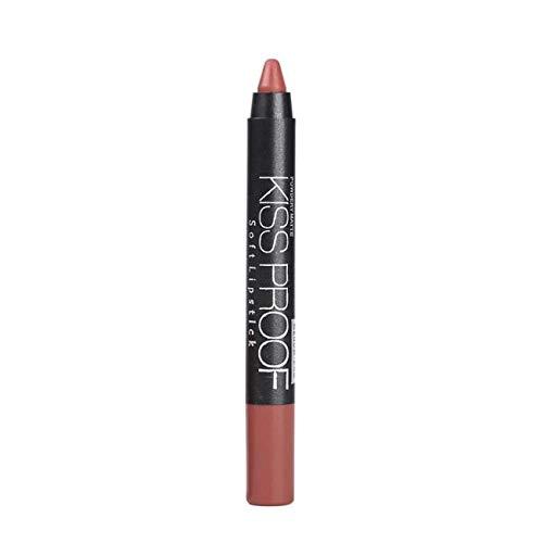 Make-up Lippenstift 19 Farben, IFOUNDYOU Schönheit Lipgloss Wasserdicht Langlebig Matt Flüssig Lippenstift Set