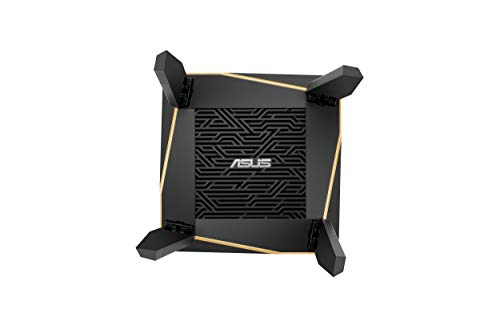 ASUS RT-AX92U Système WiFi 6 Ai Mesh AX6100 Tri-Bande Gigabit (OFDMA, Triple VLAN, Mode Router/Point d'accès, AiProtection Pro, Support AI Mesh WiFi)