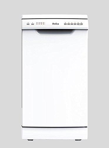 Amica Stand-Geschirrspüler 45cm Weiß Startzeitvorwahl 6 Spühlprogramme Geschirrspüler GSP 14544-1 W