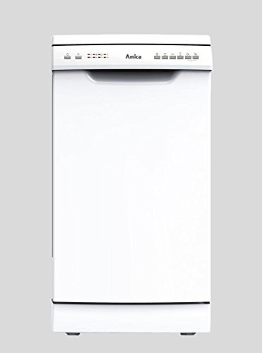Amica GSP 14544 W A++ Stand-Geschirrspüler 45cm Weiß Startzeitvorwahl 6 Spühlprogramme Geschirrspüler