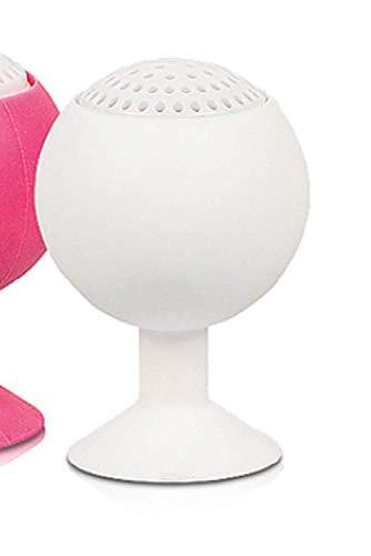 Bluetooth Lautsprecher WBS-300-10 Meter Reichweite - Weiß - wasserdicht IPX4