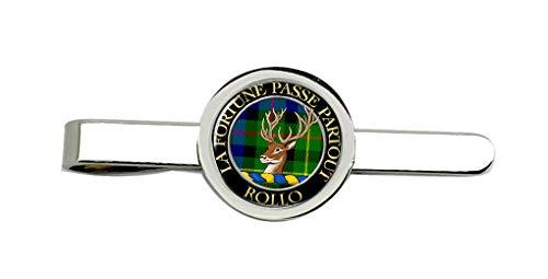 Giftshop UK Rollo Schottische Clan Krawatte Clip