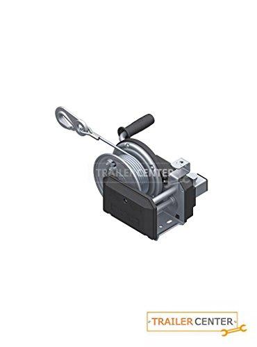 AL-KO- Seilwinde gebremst PLUS • Typ 901 PLUS mit Abrollautomatik • mit 12,5m Seil zum Heben montiert bis 900kg