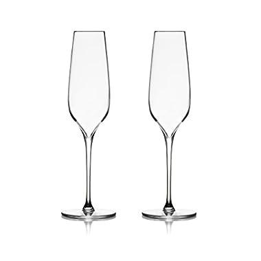 Nambé MT0951 Vie Flute Champagne, Clear