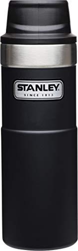Stanley Legendary Classic Einhand-Vakuum-Thermobecher 0.47 L, 18/8 Edelstahl, Doppelwandig Vakuumisoliert, Isolierbecher Kaffeebecher Teebecher Trinkbecher