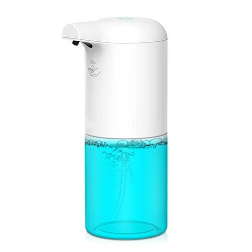 LEXIANG Dispensador de jabón automático Inteligente sin Contacto, champú, Gel de Ducha, contenedor, Dispositivo de Lavado de Manos con Espuma por inducción para Cocina, baño, 360 ml (sin líquido)
