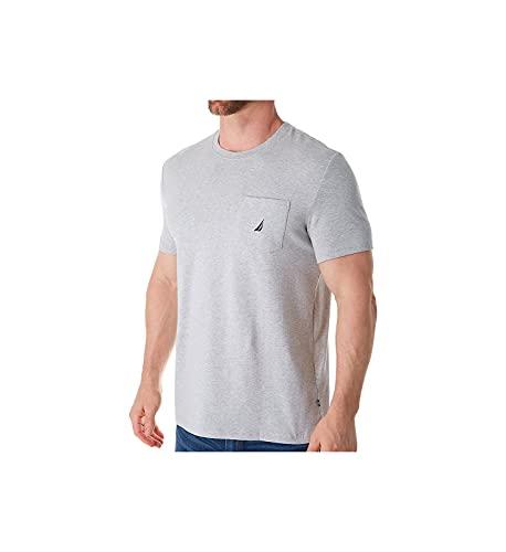 Nautica Anchor Pocket tee Camiseta, Gris (Grey Heather 0gh), X-Large (Tamaño del Fabricante:XL) para Hombre
