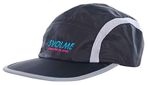 スボルメ 陸上 ランニング キャップ ランキャップ (7193-03621 BLACK) 帽子 : ブラック SVOLME