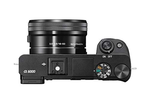 31q9HfhoJGL - Sony Alpha a6000 Mirrorless Digital Camera 24.3MP SLR Camera with 3.0-Inch LCD (Black) w/16-50mm Power Zoom Lens