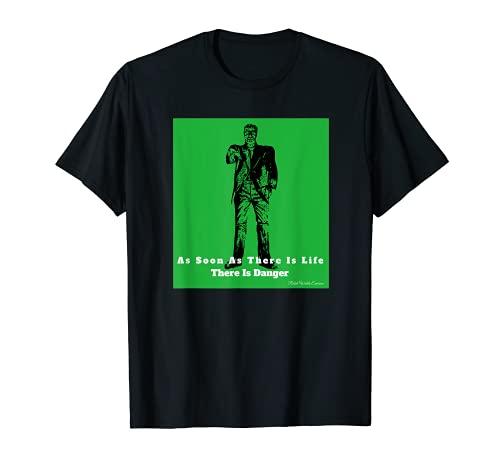 インスピレーショナルラルフ ワルド エマーソン 引用句 マカブル ツイスト Tシャツ