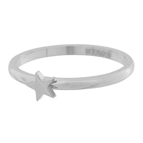 iXXXi Füllring SYMBOLRING STERN silber - 2 mm Größe Ringgröße 18
