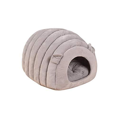 Cheerfulus Katzenhöhle & Hundebett,Weiche Hundebett Hundehaus Hundehöhle Haustier Bett Warm Schlafsack Korb hundehütte für Hunde, Katzen
