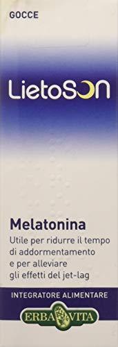 Erba Vita Integratore Alimentare Lietoson Melatonina Gocce - 30 ml