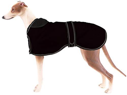 Pethiy Abrigo de invierno impermeable para perro, incluye un forro polar cálido y bandas ajustables, ideal para uso al aire libre, perfecto para perros medianos y grandes