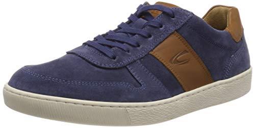 camel active Herren Tonic 12 Sneaker, Blau (Fjord/Nature 3), 43 EU