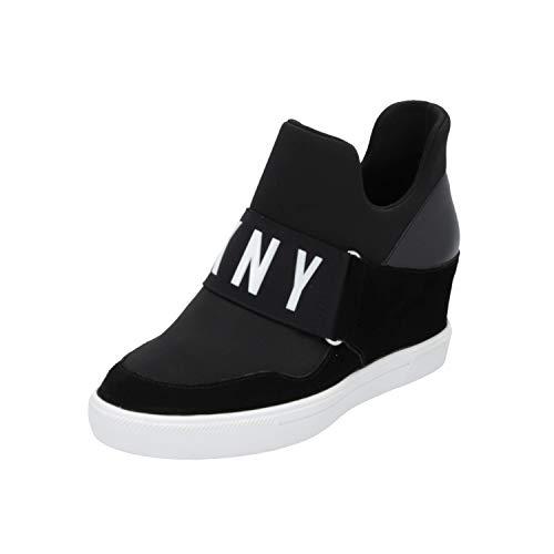 DKNY Damen Cosmos Sneaker, Schwarz Kosmos, 36.5 EU