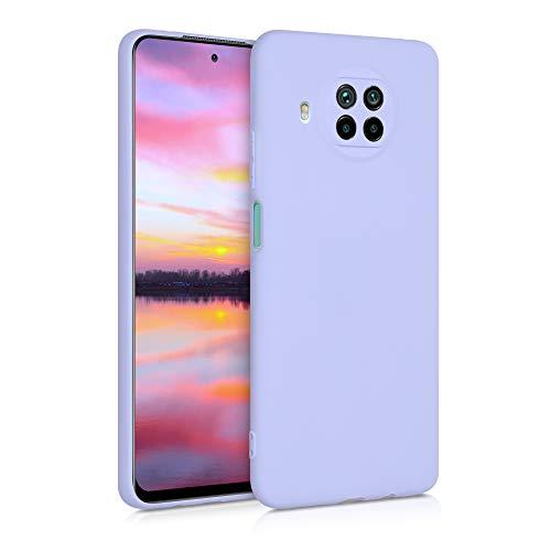 kwmobile Funda Compatible con Xiaomi Mi 10T Lite - Carcasa de TPU Silicona - Protector Trasero en Lavanda Pastel