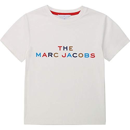 Little Marc Jacobs Kurzarm T-Shirt Kind GEBROCHENES Weiss 06A
