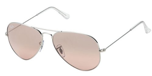 Ray-Ban Aviator Large Metal RB 3025 - Gafas de sol, color Plata, talla 58