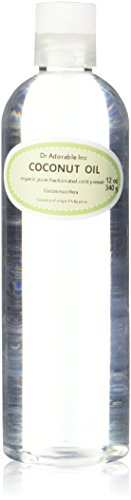 Organic Pure Fractionated Coconut Oil 12 Oz
