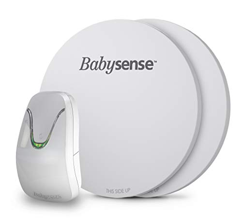 Babysense Under-The-Mattress Baby Movement Monitor, The Original Non-Contact Infant Monitor, Full Bed Coverage with 2 Sensor Pads, Now with Enhanced Sensitivity, Model: Babysense 7
