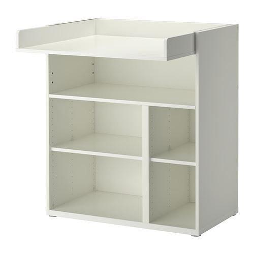 eLisa8 STUVA Wickeltisch/Schreibtisch, Weiß
