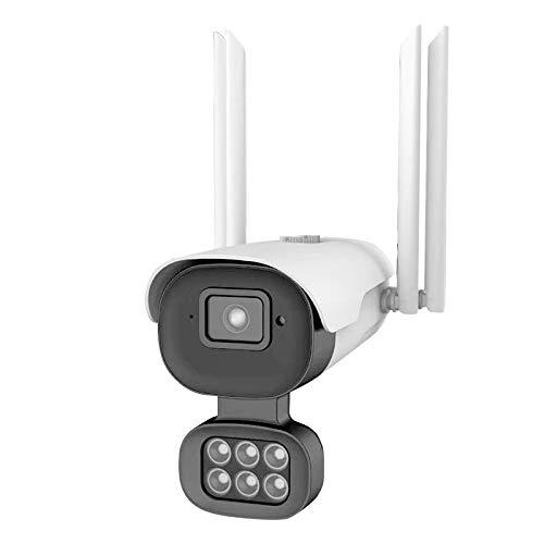 Cobeky CáMara Seguridad Al Aire Libre WiFi CáMara InaláMbrica HD WiFi 10 Luces Doble Brillante IP66 CáMara de Vigilancia una Prueba de Agua Inicio