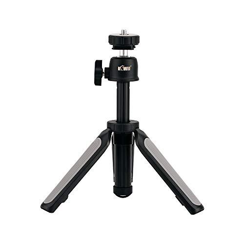 KIWIFOTOS Soporte telescópico 2 en 1 y mini trípode, estabilizadores de mano para cámaras Canon Nikon Sony, cámaras compactas, DSLR, Gopro, Osmo