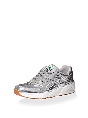 PUMA Men's R698 X Trinomic X Alife Sneaker, Silver/White, 11.5 M US