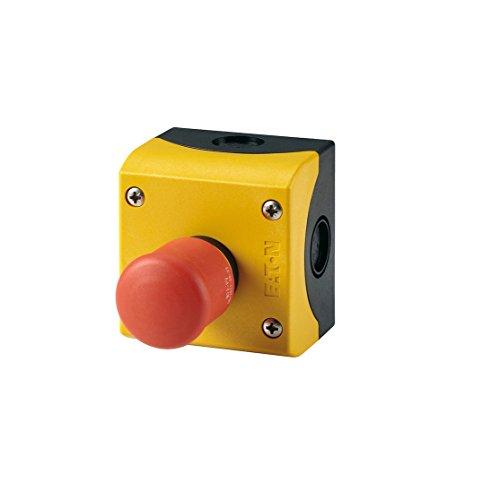 Eaton 216525 not-Halt/aus-Taste, D = 38 mm, Zugentriegelt, unbeleuchtet, 1 Öffner, 1 Schließer, Aufbau