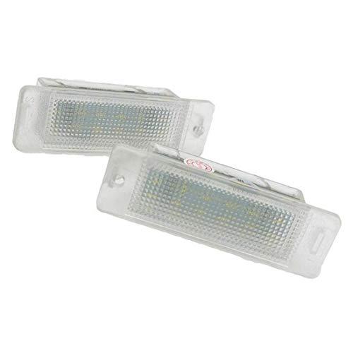 MuChangZi 2 Unids Canbus 12V 18SMD LED Luz de Matrícula para O/Pel Astra F 1992-1998 Astra MK III F Calibra
