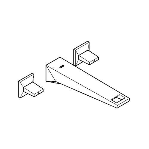 Grohe 20348DC0 Allure Brilliant - Batería para lavabo (3 orificios, DN 15)