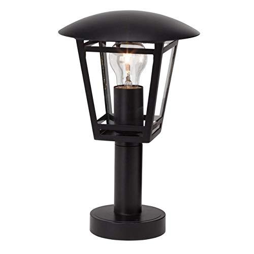 Brilliant Riley buitenlamp 43 cm vloerlamp spatwaterdicht zwart, 1 x E27 geschikt voor normale lampen tot max. 40 W.