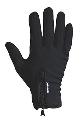 Mountain Made Cold Weather Genesis Gloves for Men & Women, Medium, Black