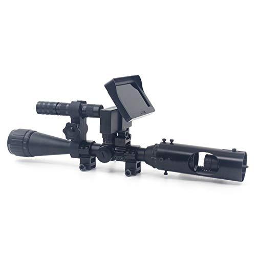 Q&N Nachtsicht-Infrarot Fernrohr Jagdvisier Advanced 850Nm LED-IR-Kamera DIY 720P Stoßfest Kann Videos Aufnehmen