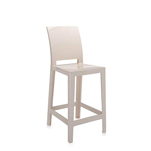 Kartell One More Please tabouret h.65 cm sable